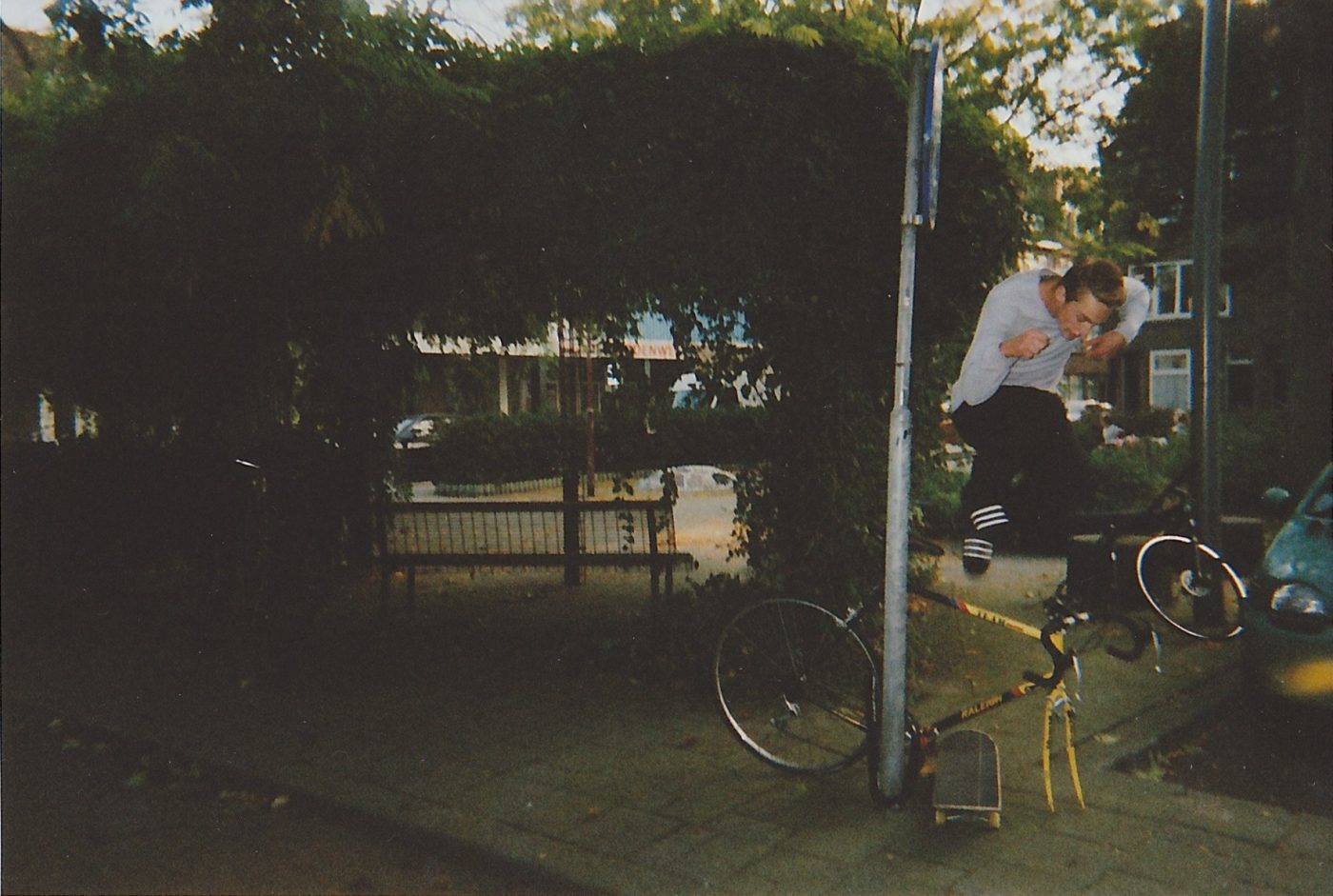 Rick Den Ouden Disposable Film Camera Skateboarding Rotterdam