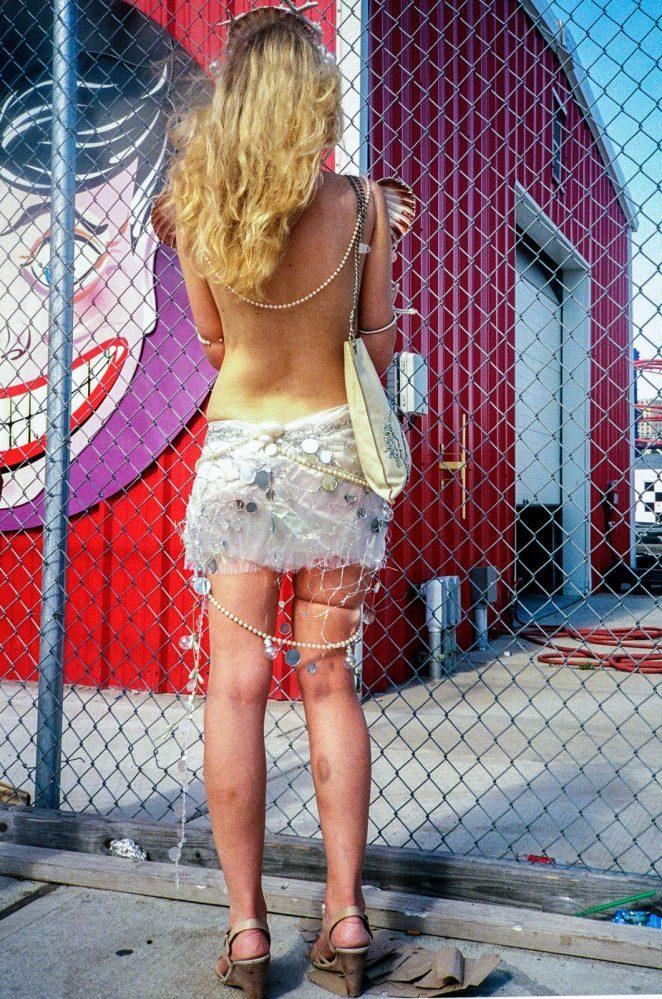 Melisande Blis for Death Before Digital - Blonde-Girl-at-Coney-Island